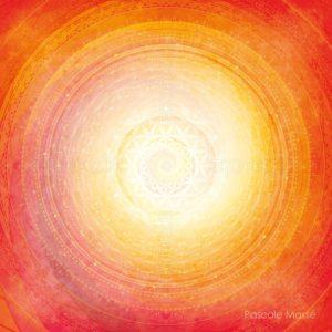 Dessin vibratoire orange